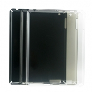iPad 2 Compatible Crystal Case-Color White