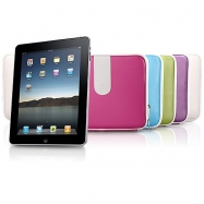 Apple iPad Compatible Carry Pouch-Color White