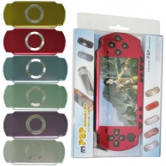 PSP 2000 Compatible Faceplate Cover-Color Red